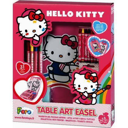 Valigia artista Hello Kitty (4553)