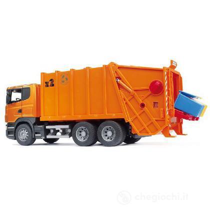 Camion Scania R rifiuti arancio (3560)