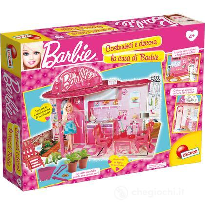 Barbie costruisci e decora la mia casa verde casa delle for Accessori per la casa di barbie