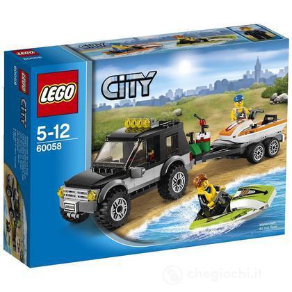 SUV Con Moto Acqua - Lego City (60058)