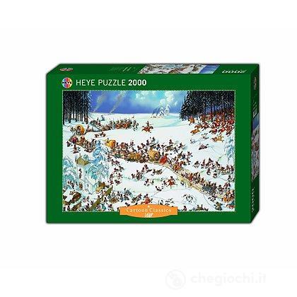 Puzzle 2000 Pezzi - Inverno di Napoleone