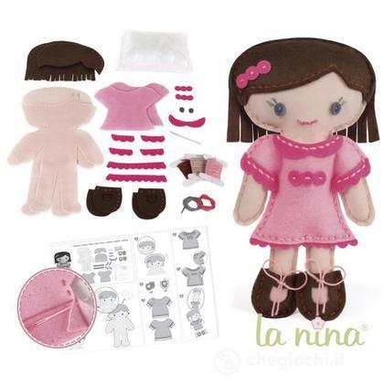 Kit Bambola Camille Rosa