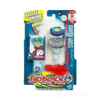Beyblade Metal Fusion battle top super - Storm Aquario