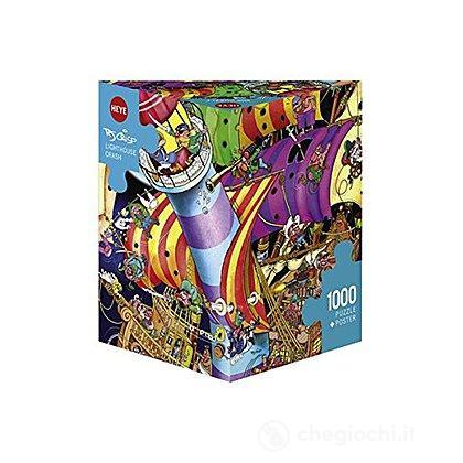 Puzzle 1000 Pezzi Triangolare - Incidente alla Torre del Faro