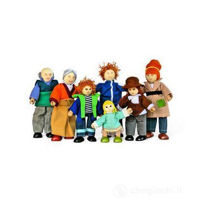Famiglia bambole