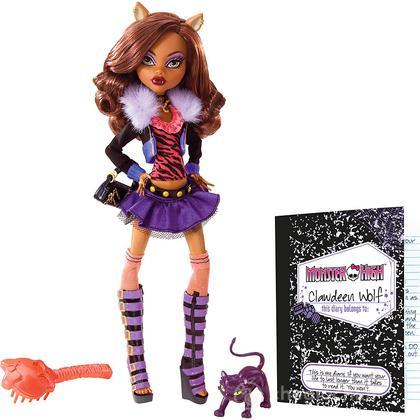 Monster High Look Preferito - Clawdeen (BBC66)