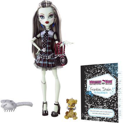 Monster High Look Preferito - Frankie (BBC67)
