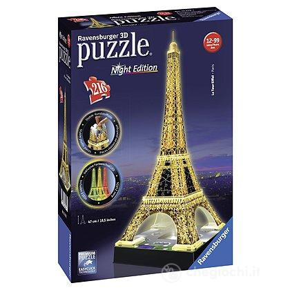 Tour Eiffel con luce