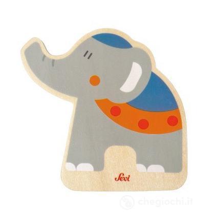 Tesserina Elefante Circo (82586)