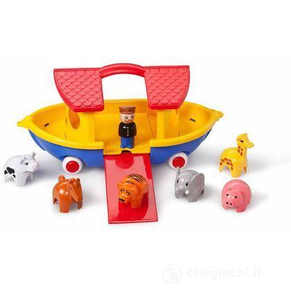 Arca di Noè con 6 animali