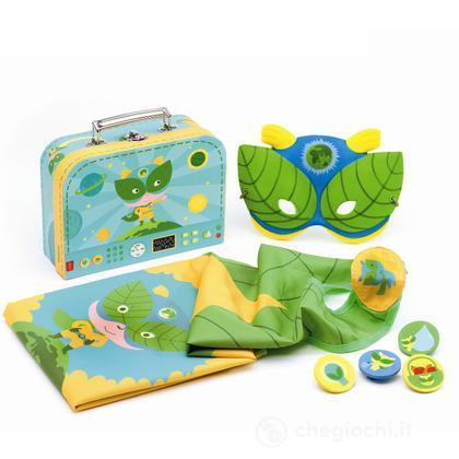 Costume super eroe ecologico (DJ06592)