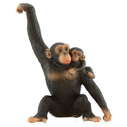 Scimpanzé con cucciolo (63594)