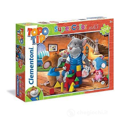 Topo tip maxipuzzle 104 pezzi 23599 puzzle classici for Topo tip giocattoli