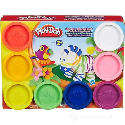 Play-Doh  8 vasetti rainbow
