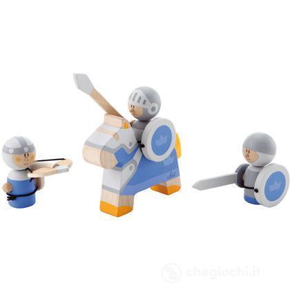 Set Guerrieri azzurri (3 pz.) (82603)