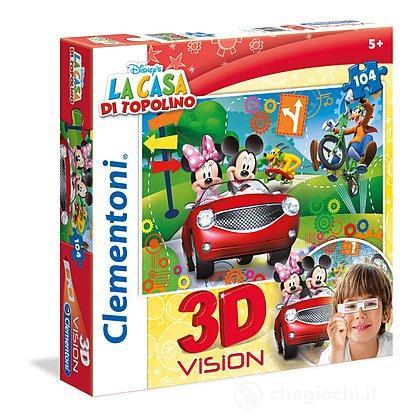 Puzzle 3D La Casa Di Topolino 104 Pezzi (20604)