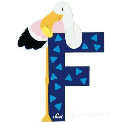 Lettera F Fenicottero