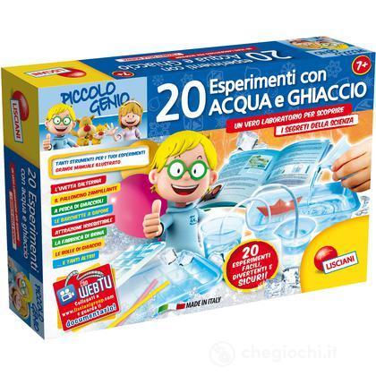 Piccolo Genio 20 Esperimenti con L'Acqua e Il Ghiaccio (46126)
