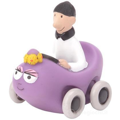 Barbabella macchina e Francois - Barbapapà