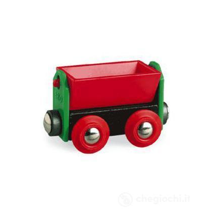 Vagone rosso basculante
