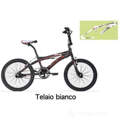 "Bici Bmx 20"" Isernia white mat"