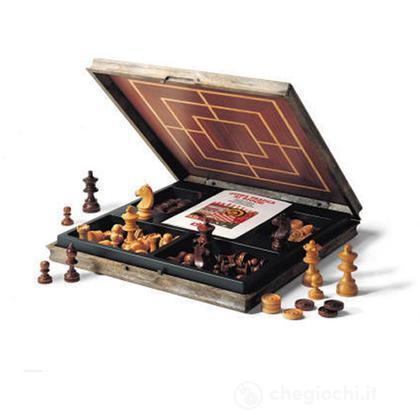 Completo scacchi, dama, tria