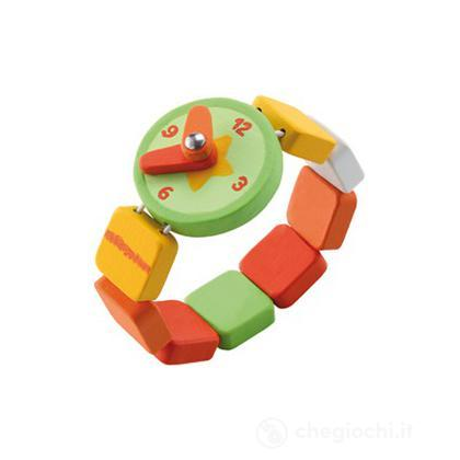 Orologio verde/arancio (82618)
