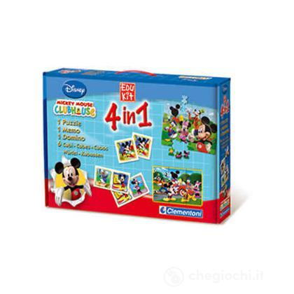 Edu kit 4 in 1 La casa di Topolino