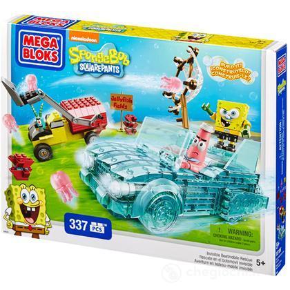 Mega Bloks Spongebob Squarepants Boatmobile di Soccorso Invisibile (94620U)