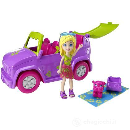 Polly Pocket - Auto Scivolo (X9047)