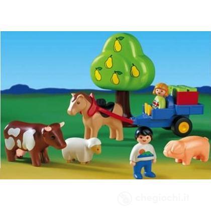 Animali fattoria 1.2.3. (6620)