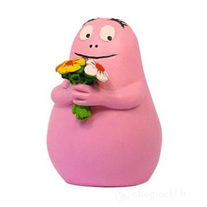 Barbapapà con fiore