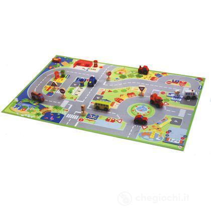 Puzzle Città con miniature (82624)