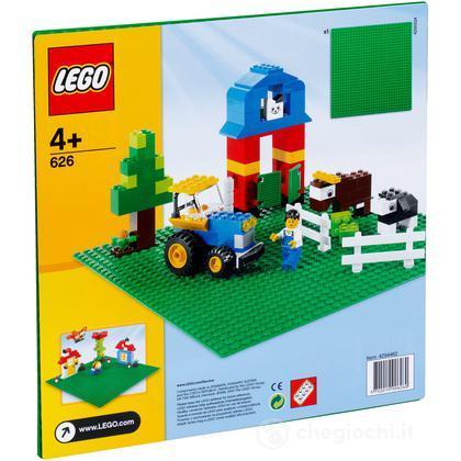 LEGO Mattoncini - Base verde Lego (626)
