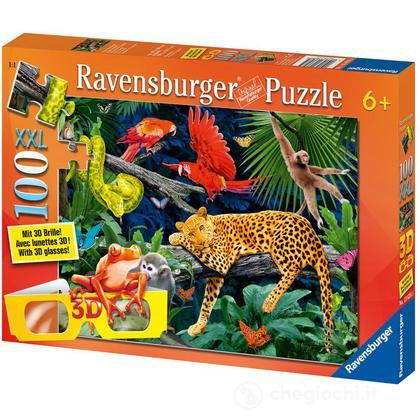 Animali della giungla 100 pezzi (13628)