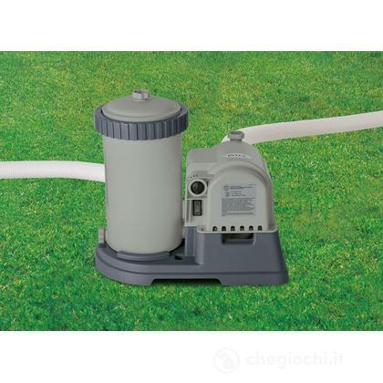 Pompa Filtro Easy-Frame cm 732 - Flusso D'Acqua: 9.463 L/H, Flusso Di Sistema: 7.192 L/H (28634)