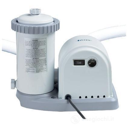 Pompa Filtro Easy-Frame cm 549 - Flusso D'Acqua: 5.678 L/H, Flusso Di Sistema: 4.466 L/H (28636)