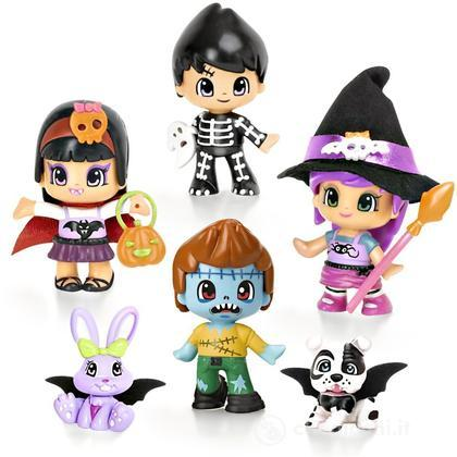 PinyPon Terror Case 6 personaggi (0636)