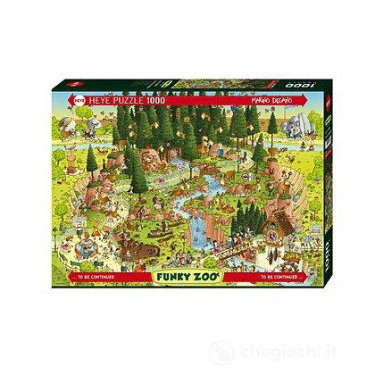 Puzzle 1000 Pezzi - Habitat della Foresta Nera