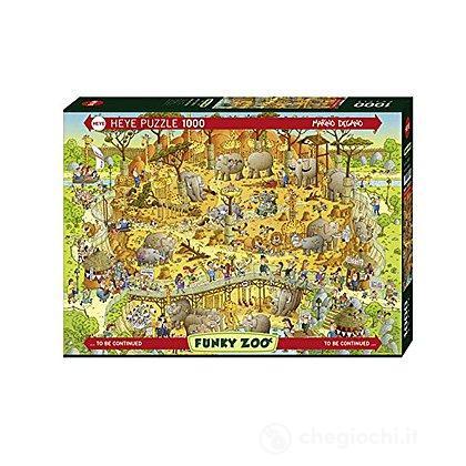 Puzzle 1000 Pezzi - Habitat Africano