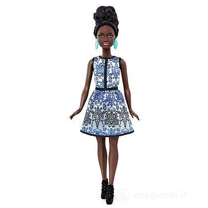 Barbie Fashionistas Petite Broccato Blu (DMF27)