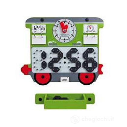 Gioco da Parete Treno/Orologio (23642)