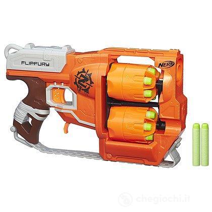 Pistola Nerf Zombie FlipFury (A9603EU4)