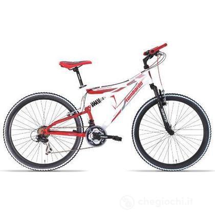 """Bici 26"""" Erice 200 White-red"""