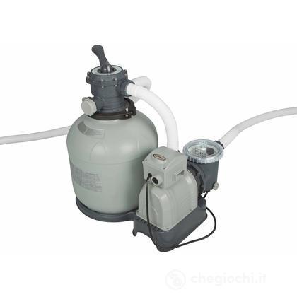 Pompa a Sabbia - Flusso D'Acqua: 12.000 L/H, Flusso Di Sistema: 10.000 L/H (28652)