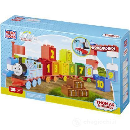 Mega Bloks Thomas Treno impara a contare 123 (10658U)