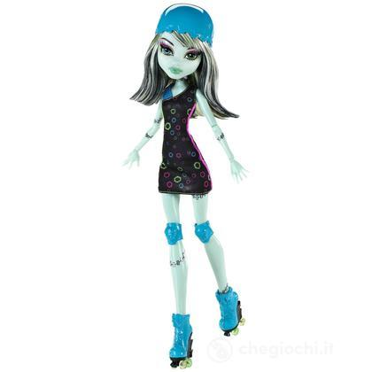 Roller Maze Frankie - Monster High sport (X3672)