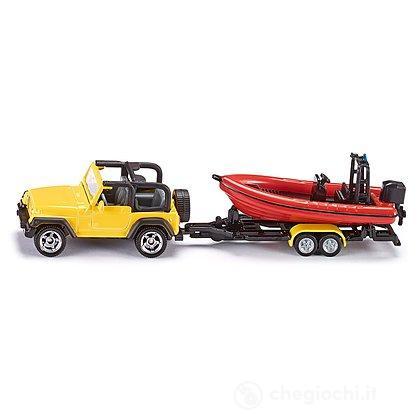 Jeep con barca (1658)