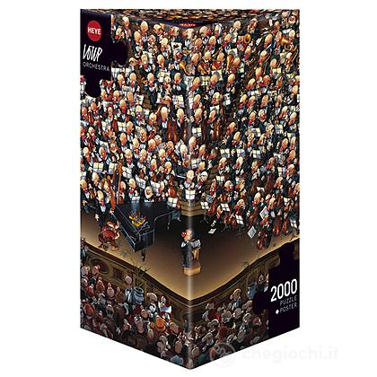 Puzzle 2000 Pezzi Triangolare - Orchestra