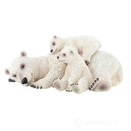 Orso Polare con cuccioli (63660)